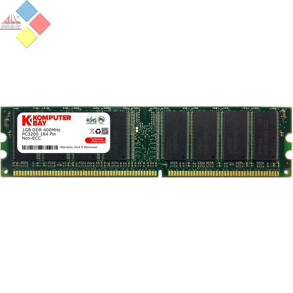 MEMORIA 1 GB KOMPUTERBAY DDR 400 ***LIQUIDACION***