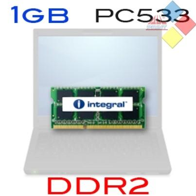MEMORIA PORTATIL INTEGRAL 1GB DDR2 533MHZ SODIMM ***LIQUIDACION***