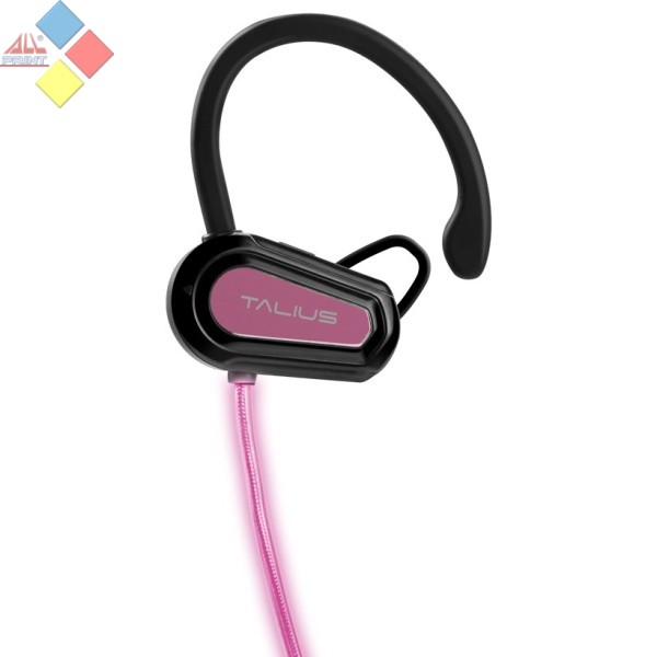 MINI AURICULAR BLUETOOTH TALIUS EA-1004BT CON CABLE LED ROSA