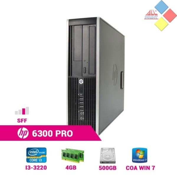 ORDENADOR OCASION HP 6300 PRO I3 3220 3,3GHZ 4GB 500GB DVD W.7
