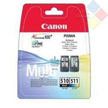 PACK TINTA PG510 Y CL511 PIXMA MP240/MP260/MP480