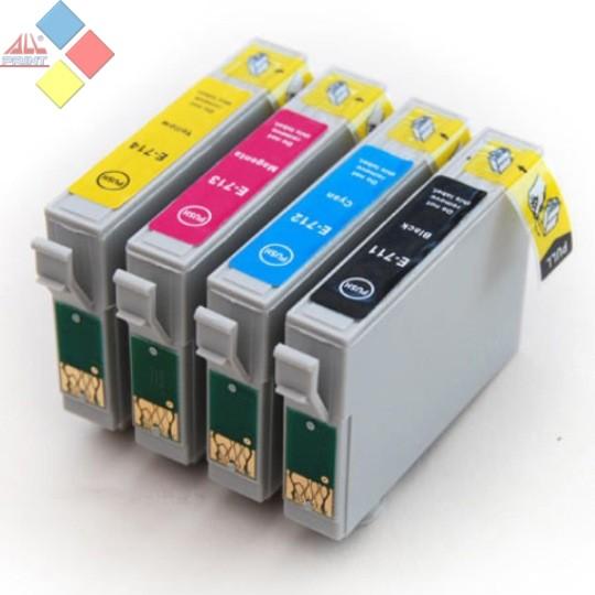 PACK TINTAS 711/2/3/4 - GENERICO EPSON PACK 4 CARTUCHOS (BK/C/M/Y)