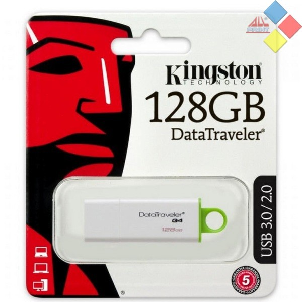 PENDRIVE KINGSTON 128GB DATATRAVELER G4 3.0
