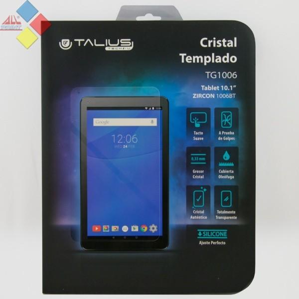 """PROTECTOR DE PANTALLA CRISTAL TEMPLADO PARA TABLET 10,1"""" TALIUS TAL-TG1006 ***LIQUIDACION***"""