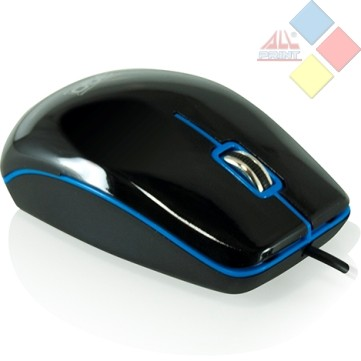 RATON OPTICO 3GO DINAMIC USB NEGRO / AZUL