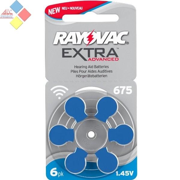 RAYOVAC - A675 - Color AZUL - Pilas especial audífono