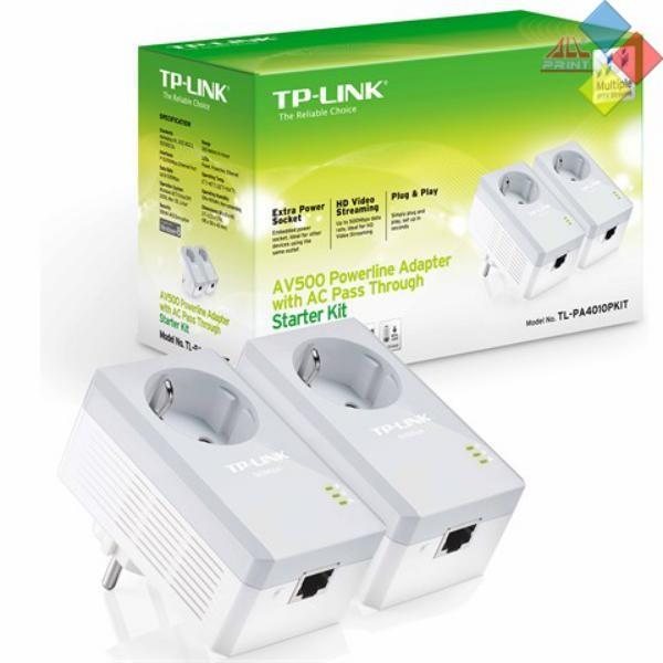 RED ELECTRICA PLC TP-LINK 600MBPS PACK DE 2 UNIDADES TL-PA4010PKIT