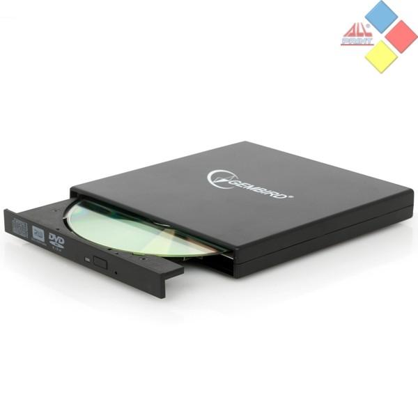 REGRABADORA DVD EXTERNA GEMBIRD DVD-USB-02 NEGRA USB 2.0