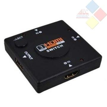 SWITCH HDMI 1.3 CON 3 ENTRADAS Y 1 SALIDA BULK