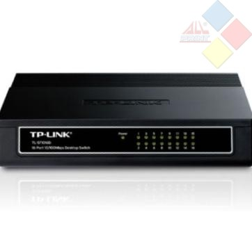 SWITCH TP-LINK 16 PTOS 10/100 TL-SF1016D