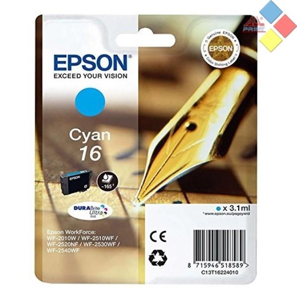 T16224010 - EPSON WORKFORCE WF-2010W / WF-2510WF / WF2510NF / WF2530WF AZUL