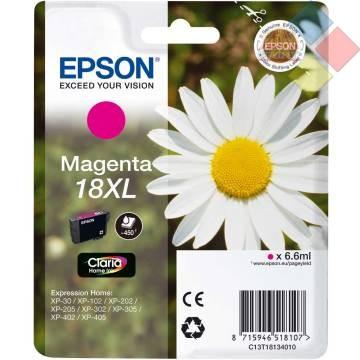 T18134010 - EPSON EXPRESSION XP102 / XP30 / XP202 / XP405 MAGENTA ***LIQUIDACION***