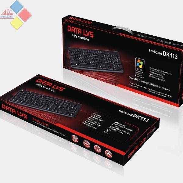 TECLADO DATALVS DK113 USB NEGRO