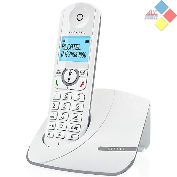 TELEFONO INALAMBRICO OCASION ALCATEL F390 GRIS ID. LLAMADA / MANOS LIBRES / CONTESTADOR *COMO NUEVO* SIN PILAS