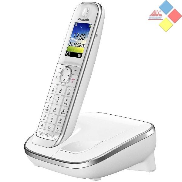 TELEFONO INALAMBRICO OCASION PANASONIC KX-TGJ310 DECT / ID. LLAMADA / MANOS LIBRES BLANCO  *COMO NUEVO, NO TRAE PILAS*