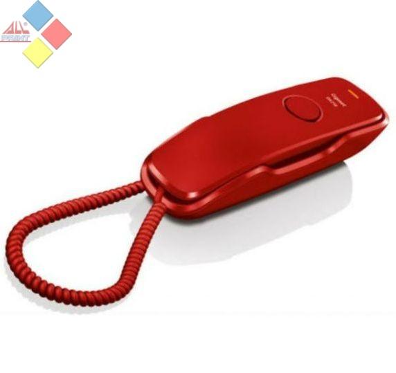 TELEFONO SOBREMESA GIGASET DA210  ROJO