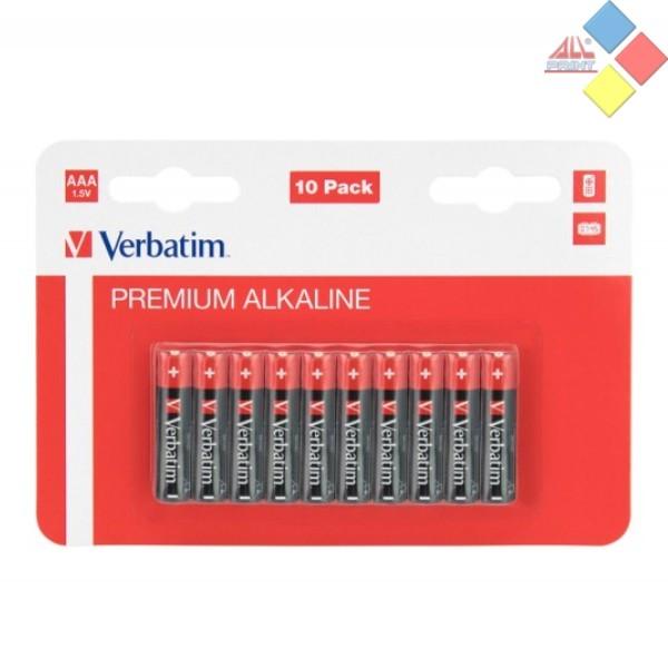 VERBATIM - Pilas Alcalina AAA / LR03 - PACK 10u.